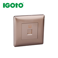 2015 top sale high quality factory directly offer European standard sat/tv/fm wall socket