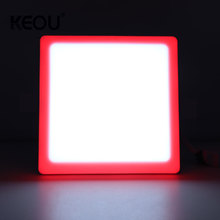 Led Frameless Panel Lamp Factory 6+3w <strong>12</strong>+4w 18+6w 24+8w Square 100lm/<strong>W</strong> Smd Surface Square Lamp