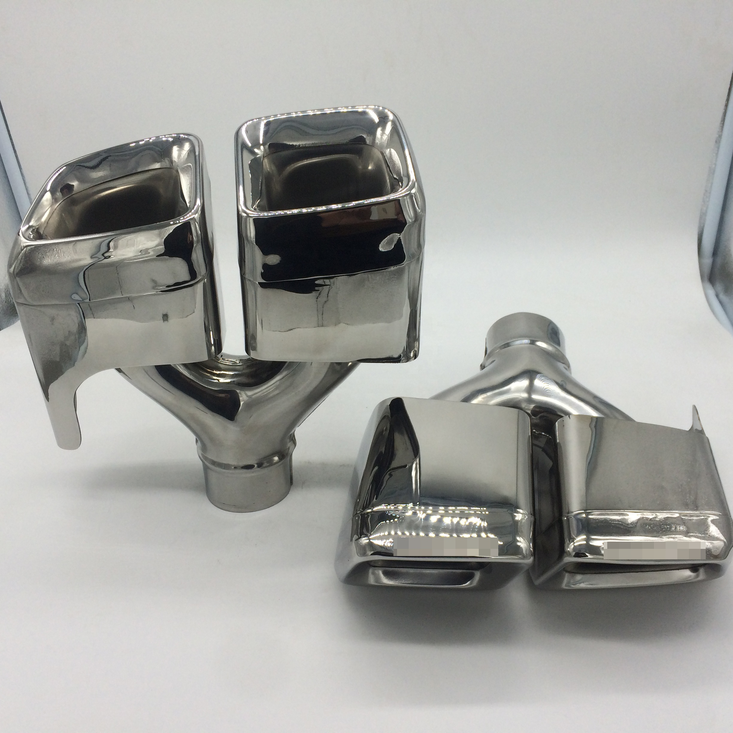 China Stainless Steel Exhaust System Tips For BENZ W212 E63