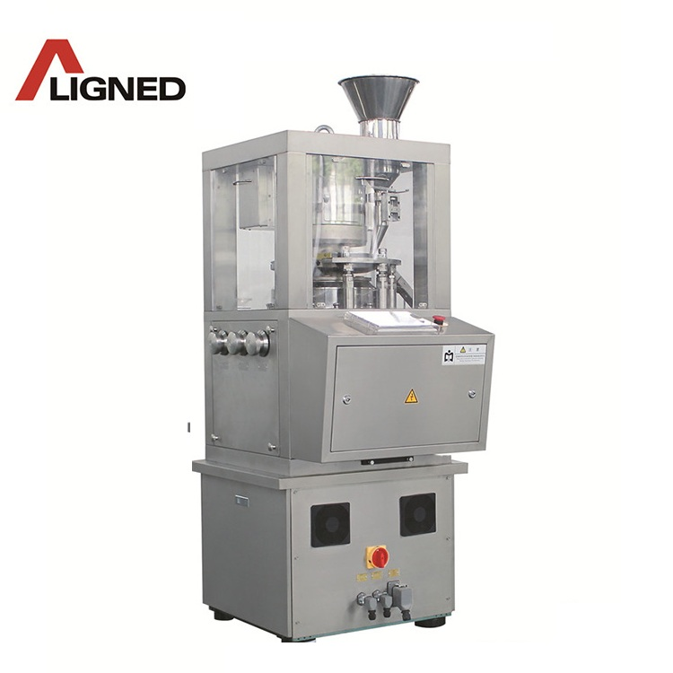 ZP8 Automatic intelligent PLC touch screeenTablet Machine with pre-pressing pressure <strong>D</strong> tooling