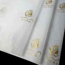 Custom Logo Print Packaging Tissue Wrapping <strong>Paper</strong> For Garment