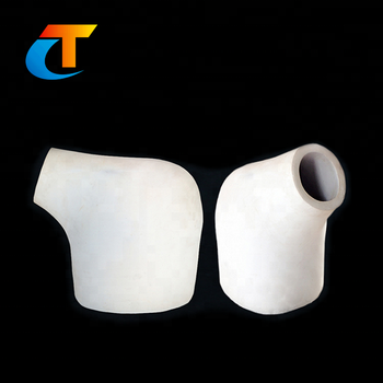 Factory custom machining clay crucible pot with high precise