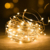 Led Light String Copper Wire Lamp Button Battery Box Copper Wire Christmas Lights Outdoor Garden Decorative Lights String
