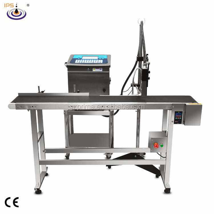 5 Lines Advanced and Stable CIJ Inkjet Printer for Daily Chemical Products