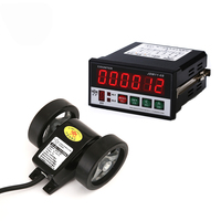 6 Digit Cable length measuring device digital counter meter with output relay