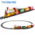Slot Racing Game Plastic Christmas Electr Track Train Toy