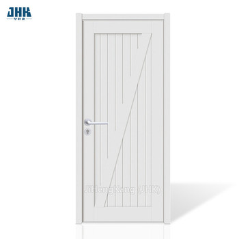 JHK-SK07 Sliding Door Hanger White Shaker Style Kitchen Cabinets Barn Door With Latch