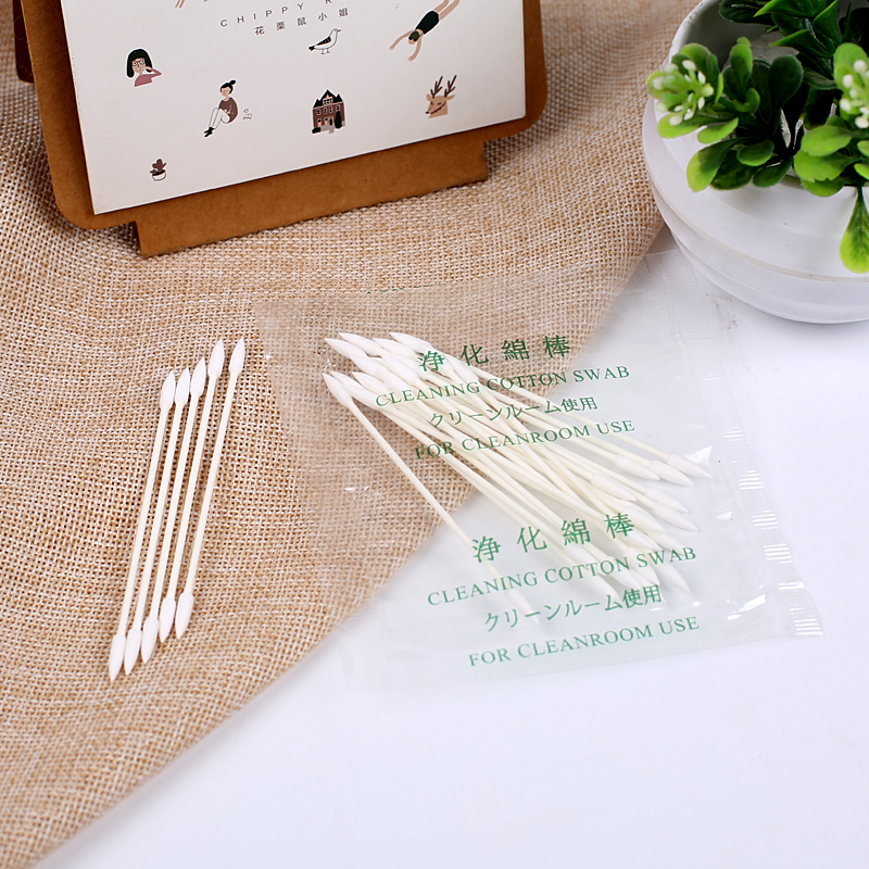 Point cotton buds paper stick makeup daily used cotton swab