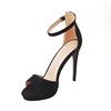 Flexible price ladies sandals high heel shoes pumps