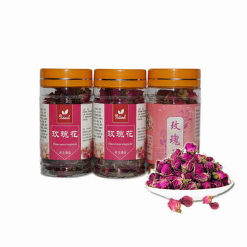 ZGJGZ Chinese traditional rose flower blooming tea herbal tea 40g canned rose tea best gift for health and beauty