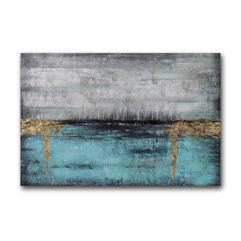 Handmade Modern Home Decor Textured Canvas Wall Art Oil Painting Abstract