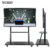 86 inch 4k Factory led digital all in one pc interactive IR touch screen smart board for education