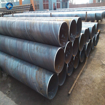 Building Material ERW Q235 Q345B Black Round Steel Welded Pipes