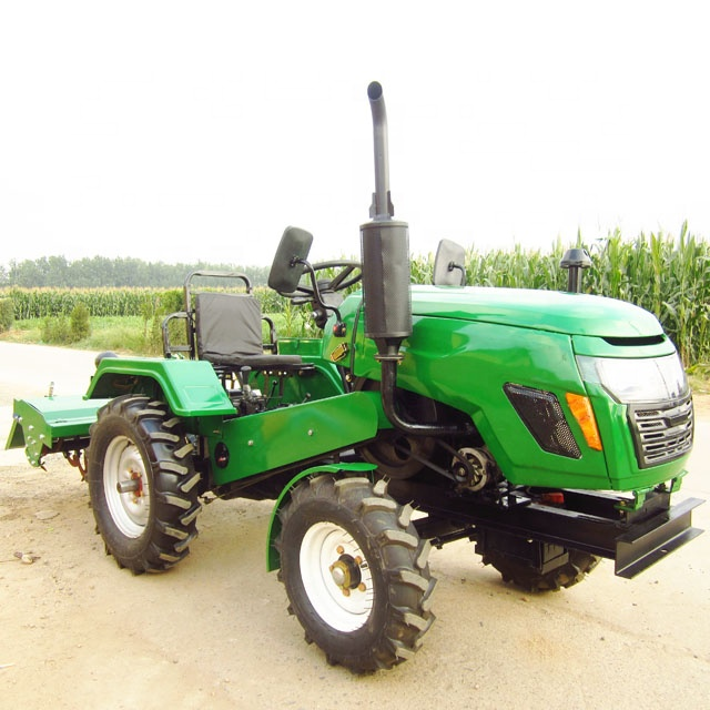 15-22HP 2WD small farm tractor for farm land cultivation