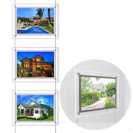 A3 A4 Backlit Plexiglass Windows Acrylic Photo Picture Frames Poster Holder LED <strong>Light</strong> <strong>Box</strong> Sign