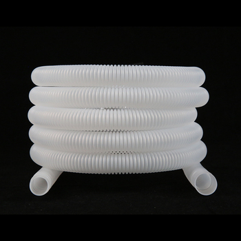 SKR white anti-uv and aging flexible air conditioner universal drain pipe