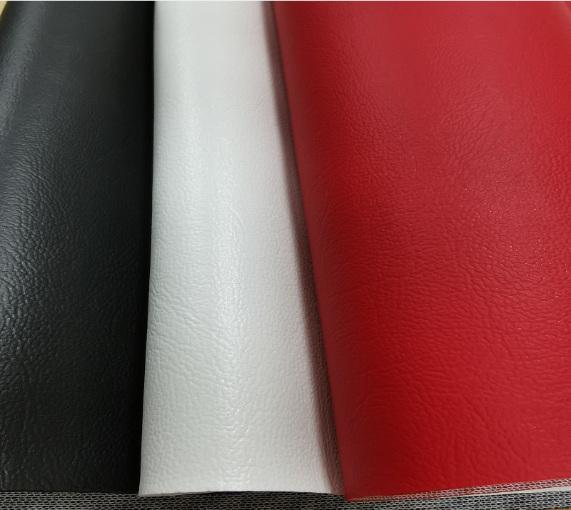 1.2mm thickness PU leather decorating brown copy leather for furniture