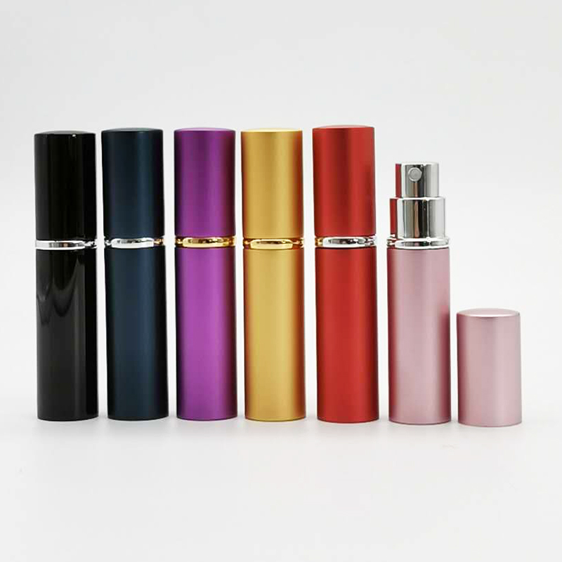 5ML 8ML 10ML 15ML 20ML Wholesale Design Your Own Travel Refillable Aluminum Empty Perfume Bottles