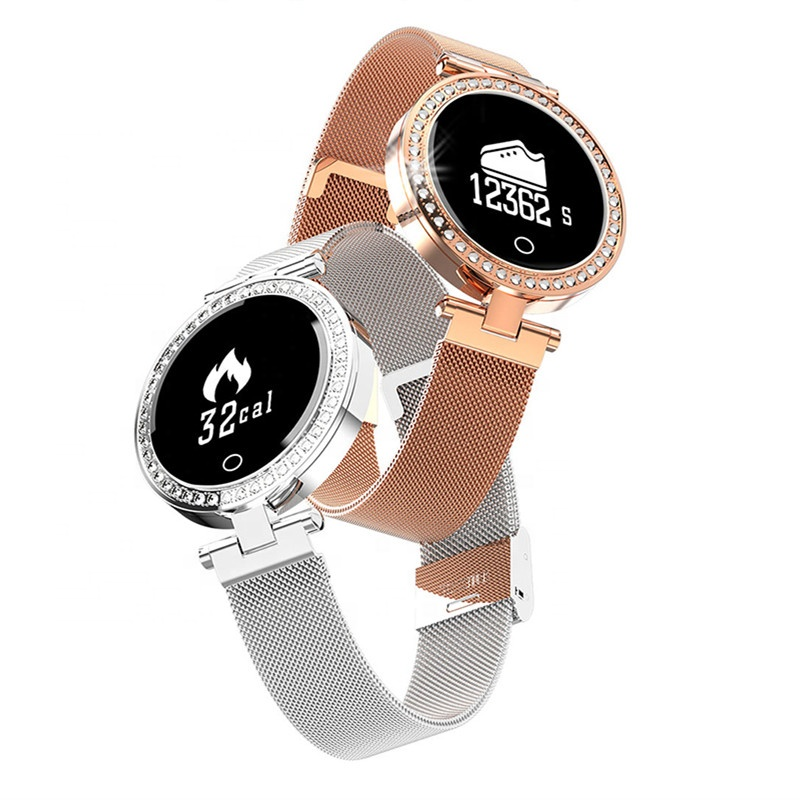 Fashion <strong>X10</strong> Women Smart Watch Bluetooth Heart Rate Monitor Fitness Tracker Lady Wristwatch