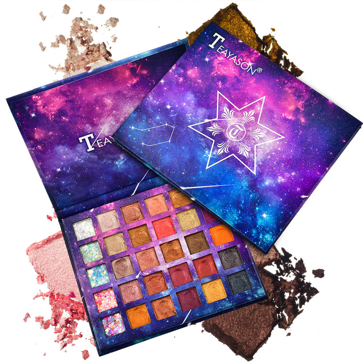 Vanelc Star Eyeshadow Makeup - Matte Shimmer 30 Colors - Highly Pigmented <strong>Eye</strong> Make Up