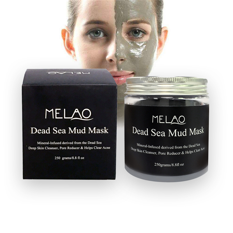 Best deep facial cleaning & purifying face dead sea mud mask magnetic oem 100% natur