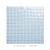 1x1 Glass Square Mosaic Tile For Swimming Pool