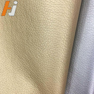 PU with genuine leather feel inventory pu synthetic leather material price per meter