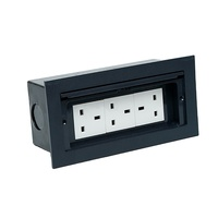OPEN COVER Concealed Commercial civilian TABLETOP SOCKET STANDARD GROUNDING/Whole Sale Table Top Cable Cubby For Desk