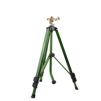 Gold Supplier Rotating Mobile Traveling Lawn Farm Garden Irrigation Tripod Watering Sprinkler