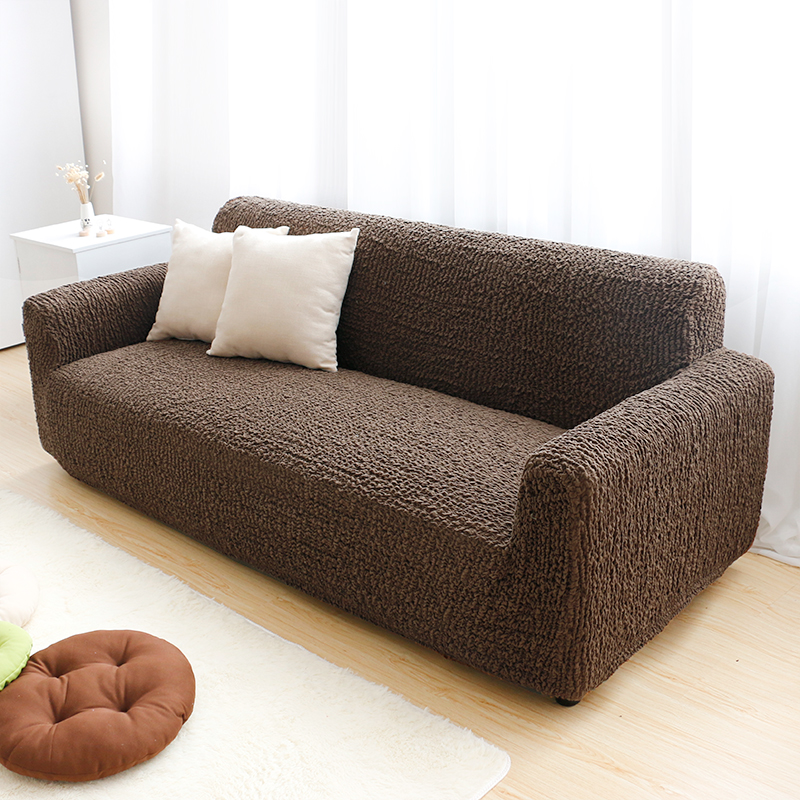 Quilted spandex protective sofa covers furniture sectional sofa cover waterproof fitted slip sofacover
