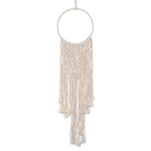 Artilady grande tapeçaria tecido boho tapeçaria home decor handmade macrame dream catcher