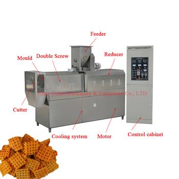 Rice crispy making machine