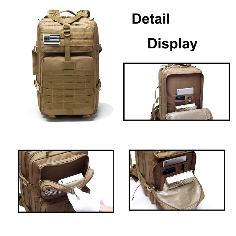 Wholesale Motorcycle Gym Backpack Military Hunting Outdoor Backpacks