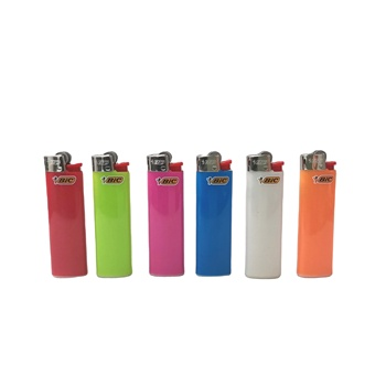 Factory direct sale disposable creative custom lighters Bic friction lighter
