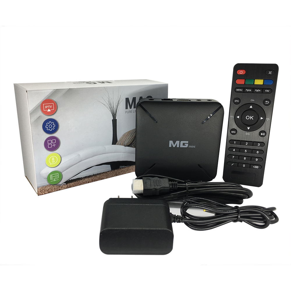 H.265 HEVC XTREAM IPTV box with bulit-in wifi support stalker Mgmini Linux <strong>system</strong>