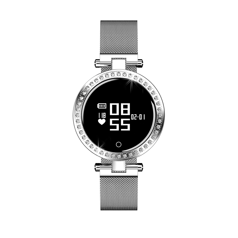 Smart Watch <strong>X10</strong> with Female Physiological Cycle Blood Pressure Heart Rate Monitor round smartwatch