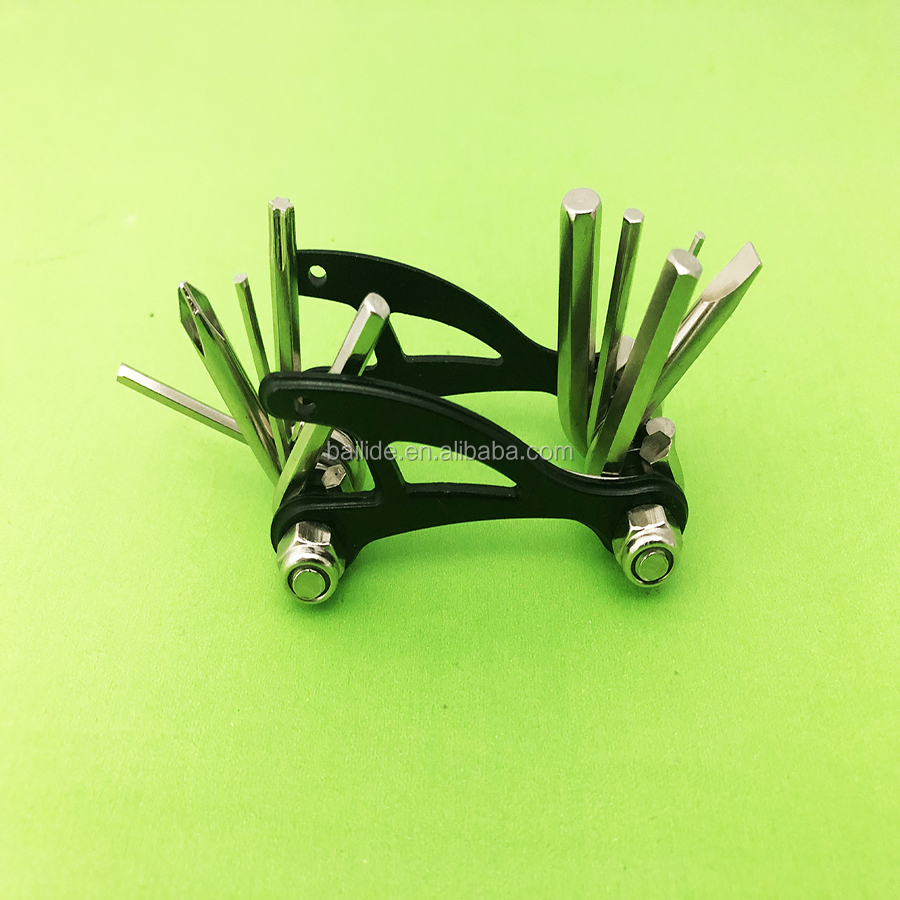 Titanium Bike Multitool Bike Tool. Reliable, Compact and Lightweight Repair Kit for Road and Mountain Bikes