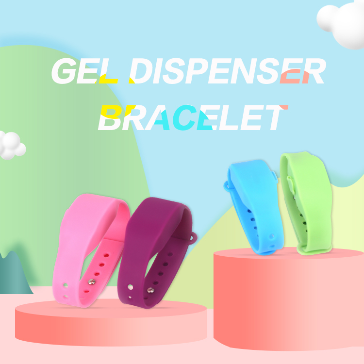Wholesale OEM/ODM Portable Family Silicone Bracelets Sanitizing Wristband