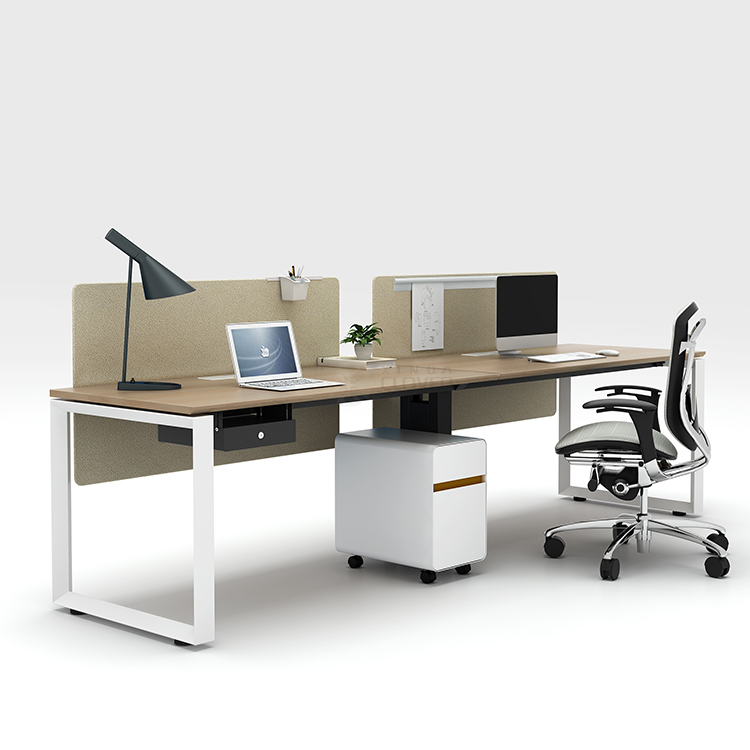 Modern design durable metal legs open space office workstation desk