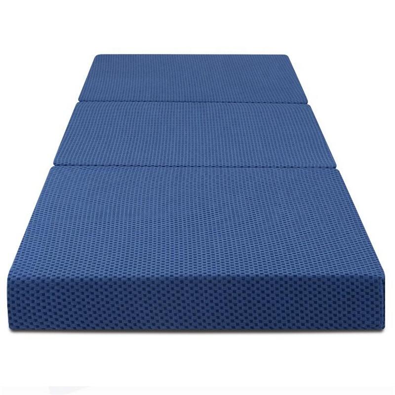 Beauty sleep Memory Foam Mattress Folding Foldaway Extra Portable Guest Bed Cot mattress - Jozy Mattress   Jozy.net