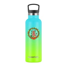 Everich 18/8 Bpa Free Custom Logo Outdoor Drinking Insulated <strong>Sports</strong> Bottles Stainless Steel Water Thermo With Plastic Cap