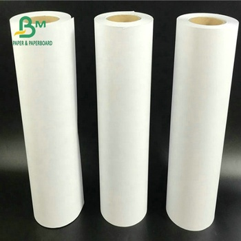 100% Natural Pulp  A0 A1 A2 A3 White Color Plotter Paper Roll