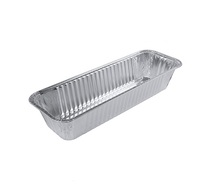 High Quality Barbecue Food <strong>Container</strong> Food Graded Aluminum Foil Baking Tray Disposable To Go Box