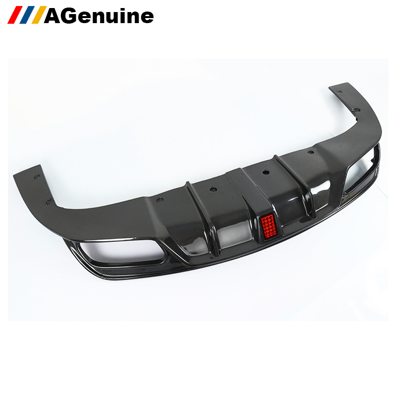 Carbon fiber car accessories LED Flash lamp rear diffuser rear bumper lip for mercedes benz CLA class <strong>W117</strong>