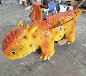Hot sale Popular Animated Walking Dinosaur Ride For Mall
