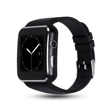 New Arrival X6 <strong>Smart</strong> <strong>Watch</strong> with Camera Touch Screen Support SIM TF Card bt <strong>Smart</strong> wristband LOW MOQ for samsung xiaomi apple huaw