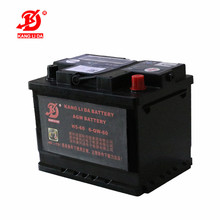 star tstop car battery H5-60 12v 60ah AGM battery