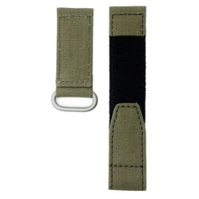 Custom Size Color Sports 20mm 22mm Nylon Band Velcro-Canvas Watch Strap