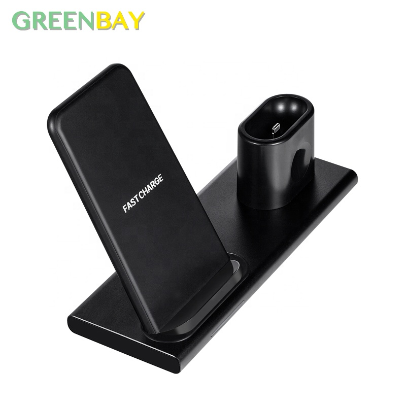 Multifunction <strong>Phone</strong> Holder With Qi Wireless Charger For Blackberry <strong>Q10</strong>