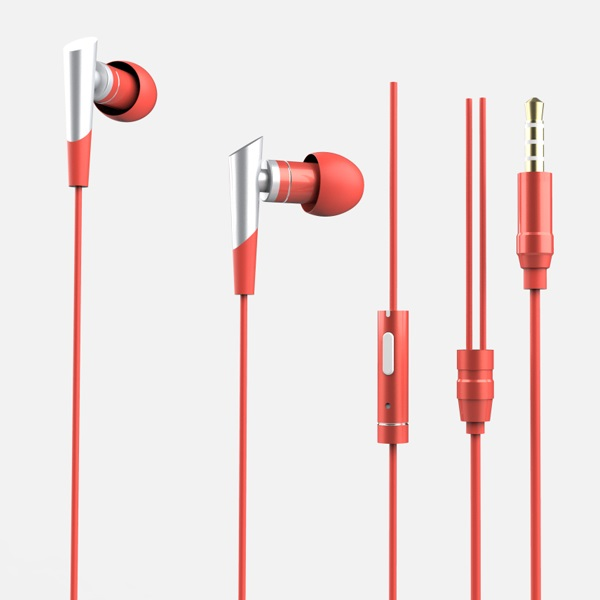 2019 hot sale handsfree noise isolating wired earphone with mic 3.5mm connector wired earbuds for <strong>mobile</strong> <strong>phone</strong>
